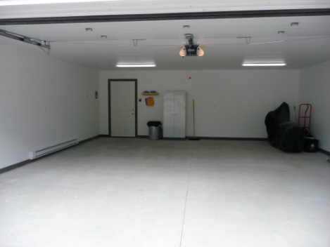 Finished Garage Interior